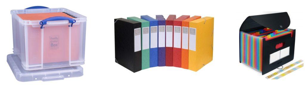 Organisez et conservez vos papiers