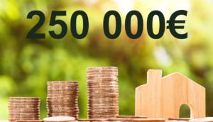 Quel salaire faut-il pour emprunter 250 000 euros ?