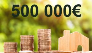 Quel salaire faut-il pour emprunter 500 000 euros ?