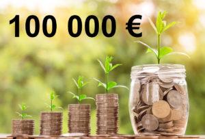 Combien rapporte 100 000 euros placés ?