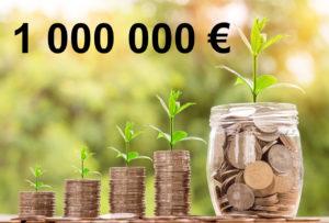 Combien rapporte 1 000 000 d'euros placés ?