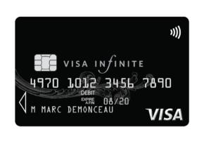 Quel est le prix de la carte Visa Infinite ?