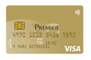Quel est le prix d'une carte Visa Premier ?
